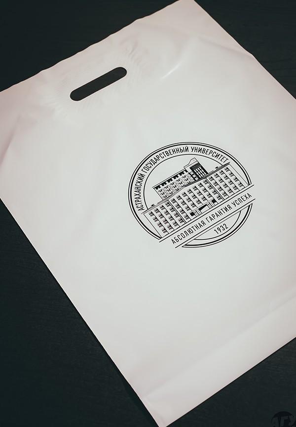 Фирменный пластиковый пакет