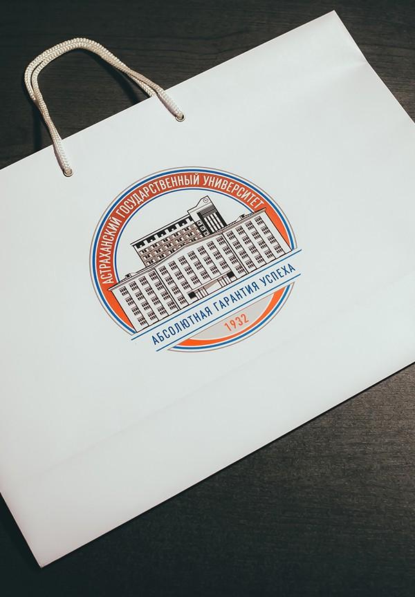 Фирменный бумажный пакет